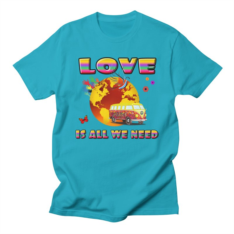 All We Need Men's T-Shirt by Will's Buckin' Stuff