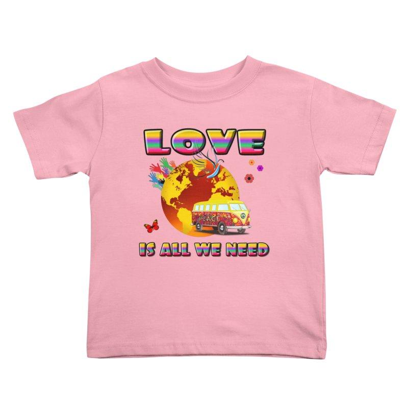 All We Need Kids Toddler T-Shirt by Will's Buckin' Stuff