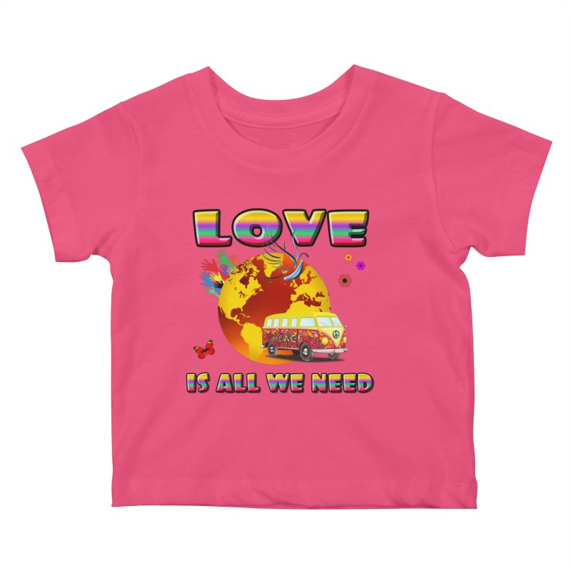 All We Need Kids Baby T-Shirt by Will's Buckin' Stuff