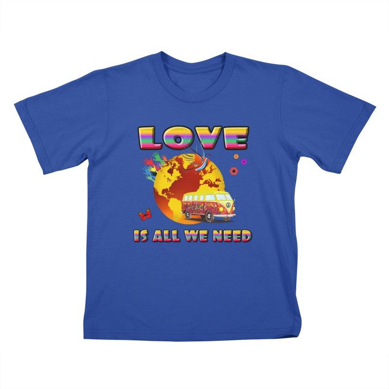 All We Need Kids T-Shirt by Will's Buckin' Stuff