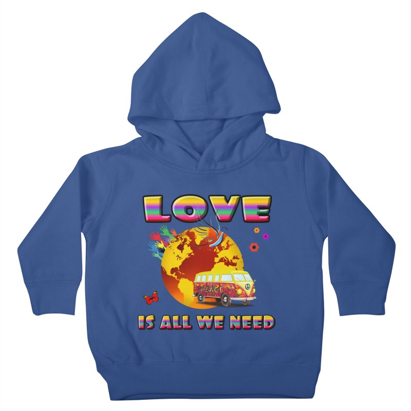 All We Need Kids Toddler Pullover Hoody by Will's Buckin' Stuff