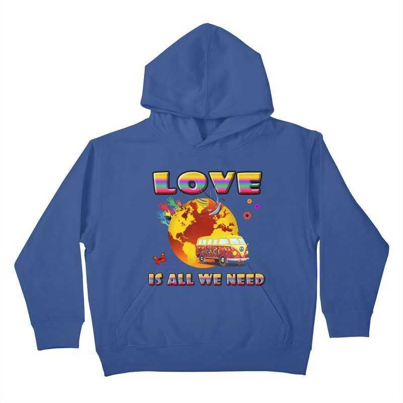 All We Need Kids Pullover Hoody by Will's Buckin' Stuff