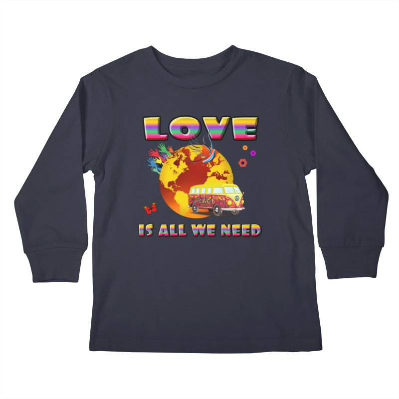 All We Need Kids Longsleeve T-Shirt by Will's Buckin' Stuff