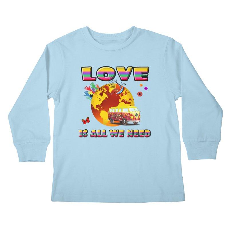 All We Need Kids Longsleeve T-Shirt by Will's Buckin' Stuff