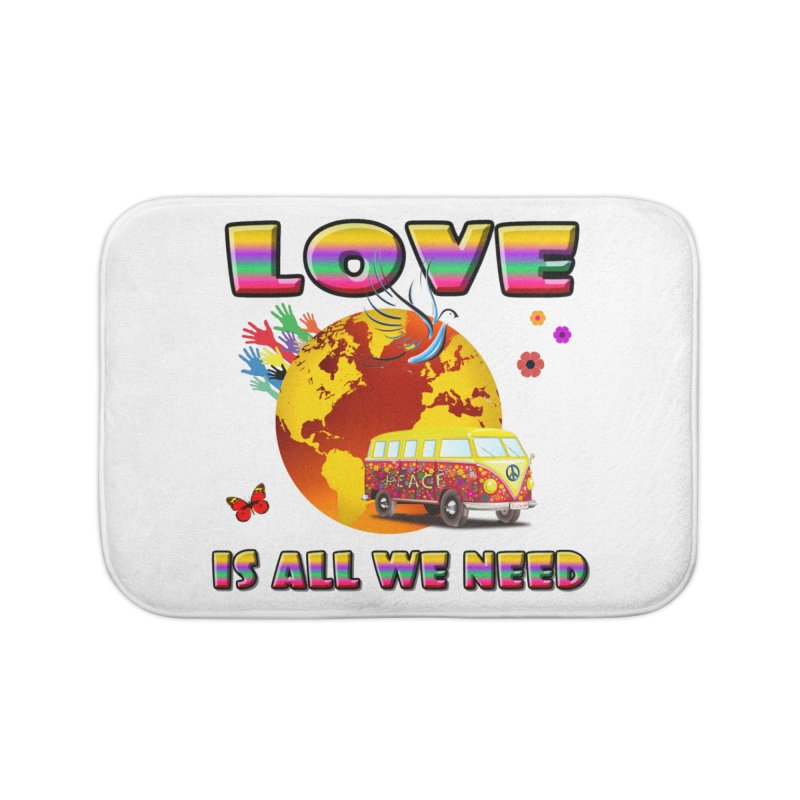All We Need Home Bath Mat by Will's Buckin' Stuff