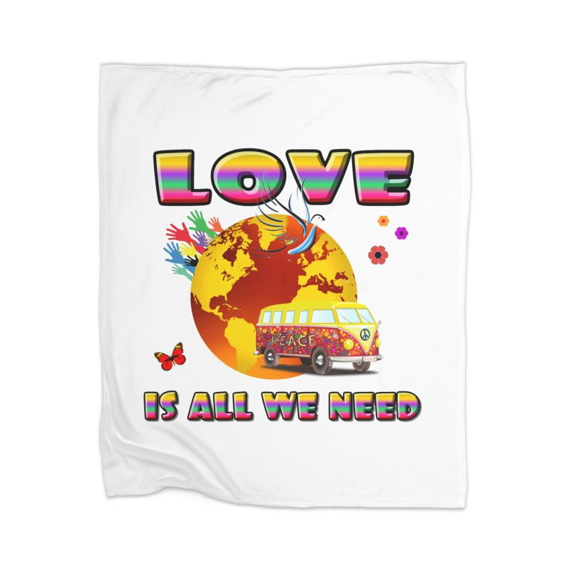 All We Need Home Blanket by Will's Buckin' Stuff