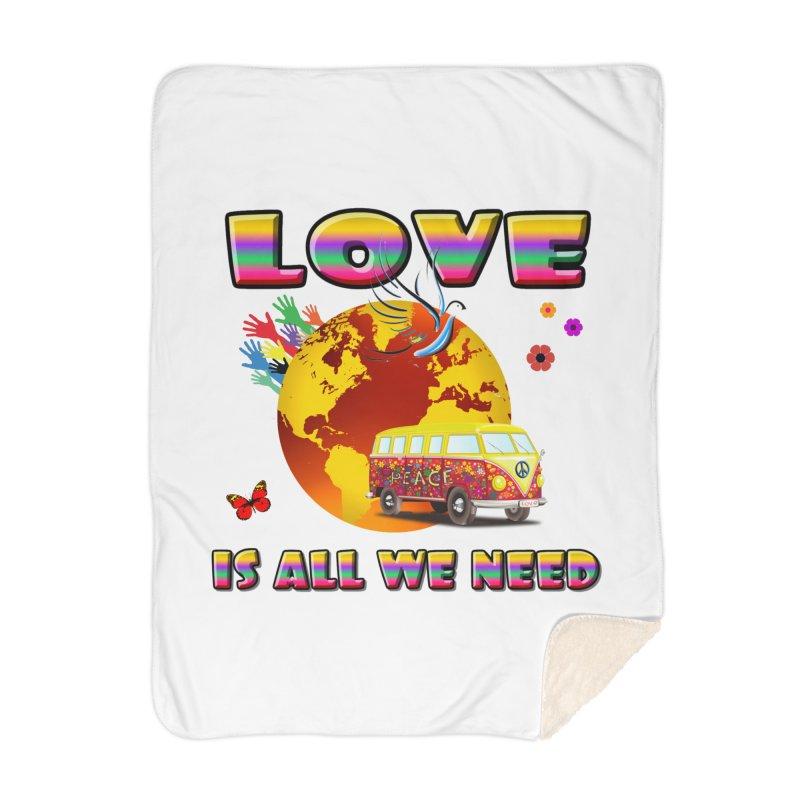 All We Need Home Blanket by Will's Buckin' Stuff