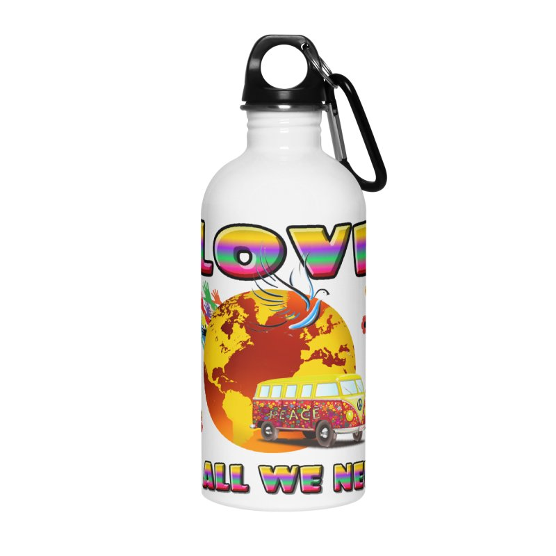 All We Need Accessories Water Bottle by Will's Buckin' Stuff