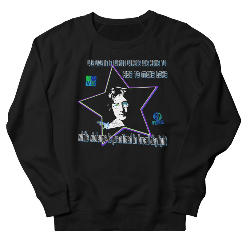 Get High and Die Men's French Terry Sweatshirt by Will's Buckin' Stuff