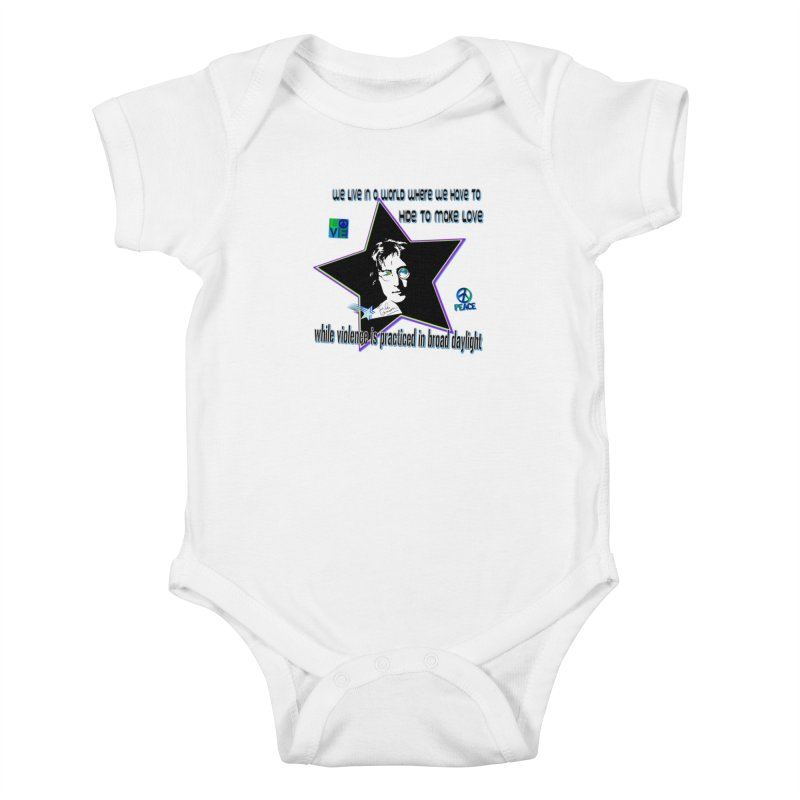 Get High and Die Kids Baby Bodysuit by Will's Buckin' Stuff