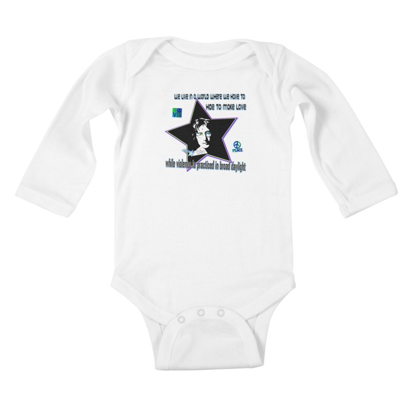 Get High and Die Kids Baby Longsleeve Bodysuit by Will's Buckin' Stuff