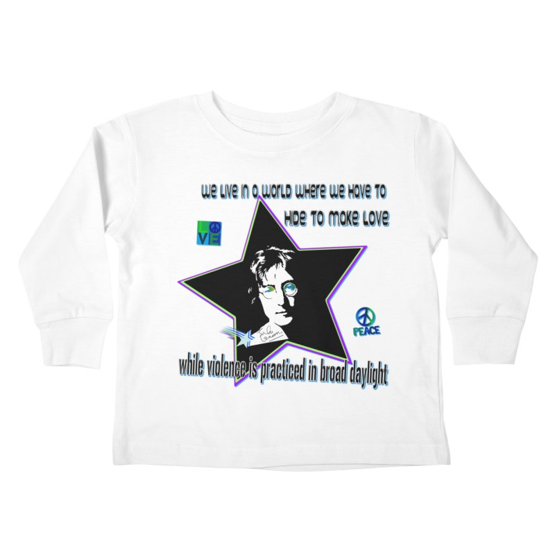 Get High and Die Kids Toddler Longsleeve T-Shirt by Will's Buckin' Stuff
