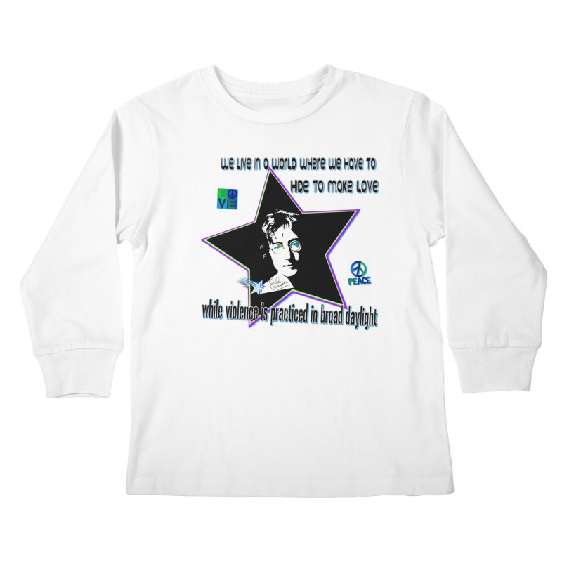 Get High and Die Kids Longsleeve T-Shirt by Will's Buckin' Stuff