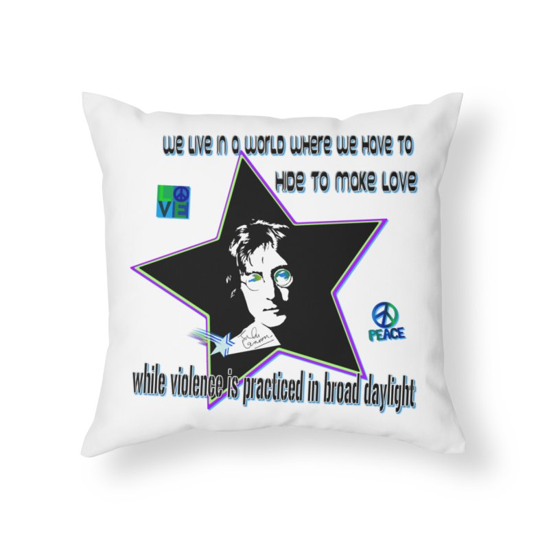 Get High and Die Home Throw Pillow by Will's Buckin' Stuff