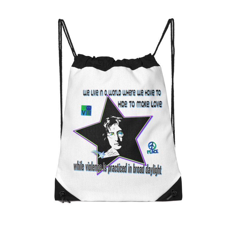 Get High and Die Accessories Drawstring Bag Bag by Will's Buckin' Stuff