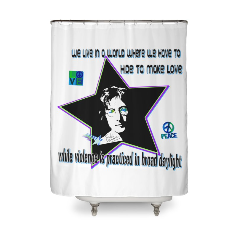Get High and Die Home Shower Curtain by Will's Buckin' Stuff