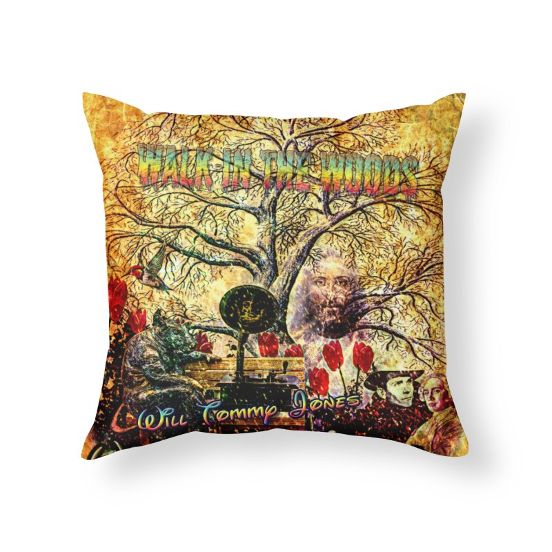Woody album pillow Home Throw Pillow by Will's Buckin' Stuff