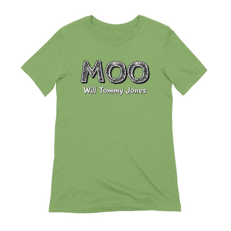 MOO wtj Women's Extra Soft T-Shirt by Will's Buckin' Stuff