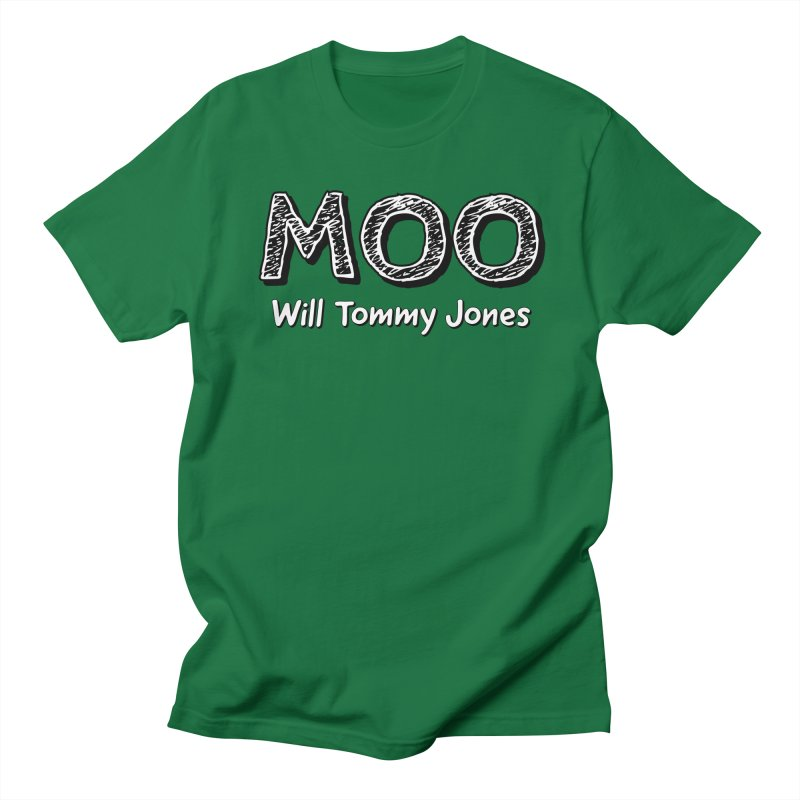 MOO wtj Men's Regular T-Shirt by Will's Buckin' Stuff