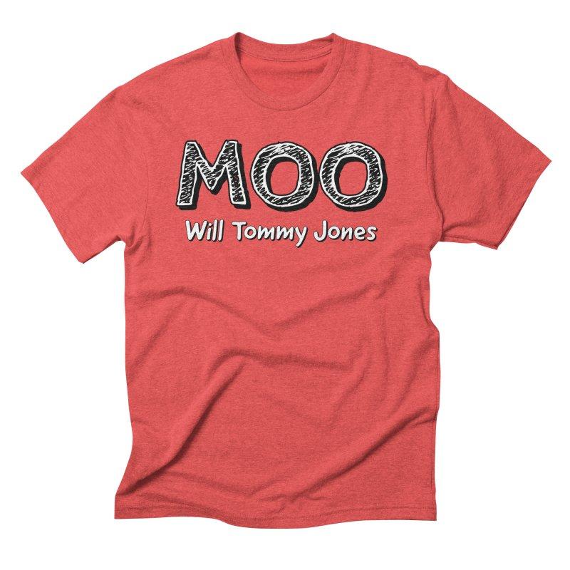 MOO wtj Men's Triblend T-Shirt by Will's Buckin' Stuff