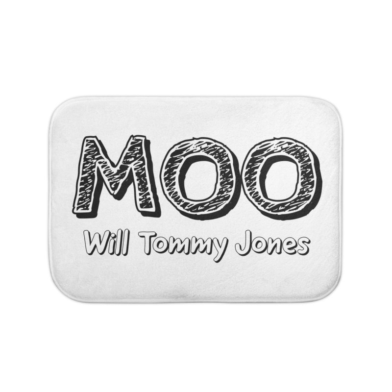 MOO wtj Home Bath Mat by Will's Buckin' Stuff