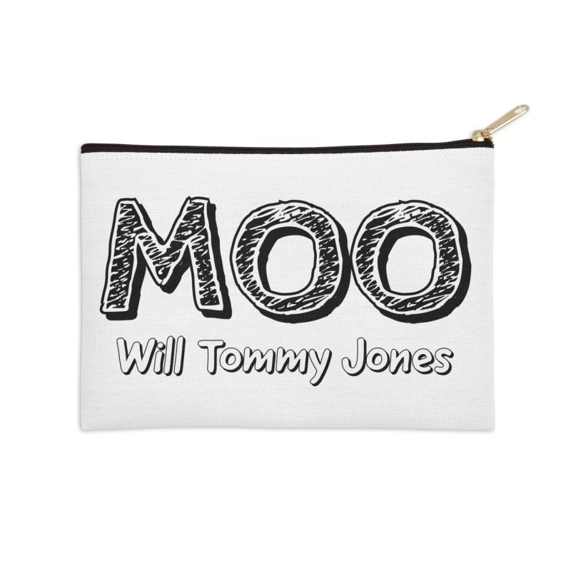 MOO wtj Accessories Zip Pouch by Will's Buckin' Stuff
