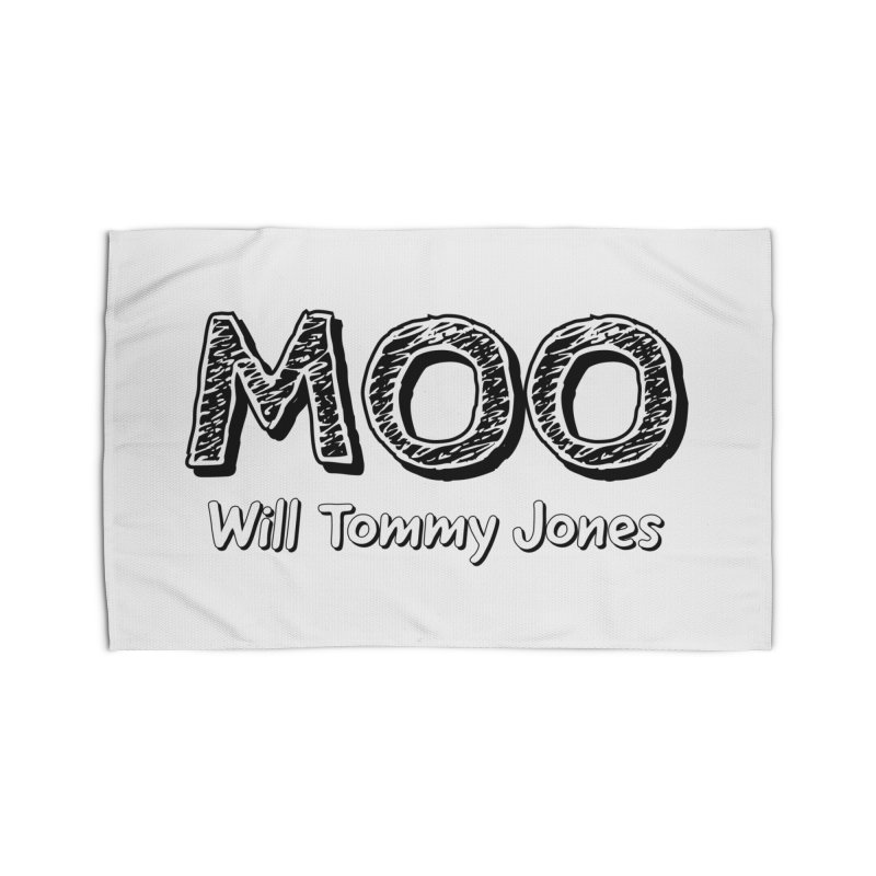 MOO wtj Home Rug by Will's Buckin' Stuff