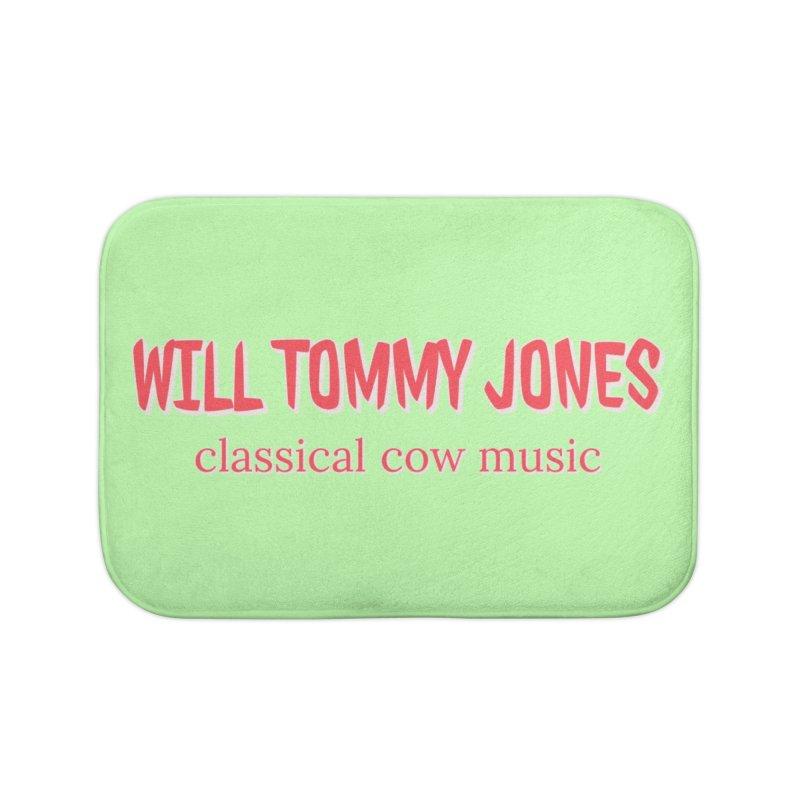 classical cow Home Bath Mat by Will's Buckin' Stuff