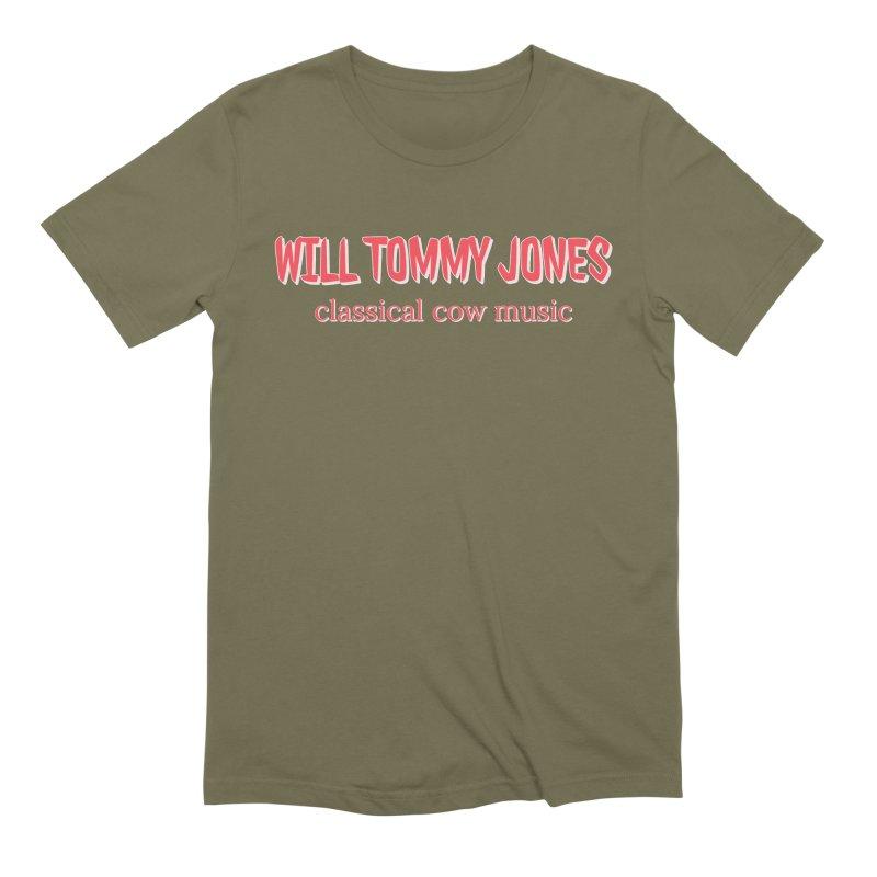 classical cow Men's T-Shirt by Will's Buckin' Stuff