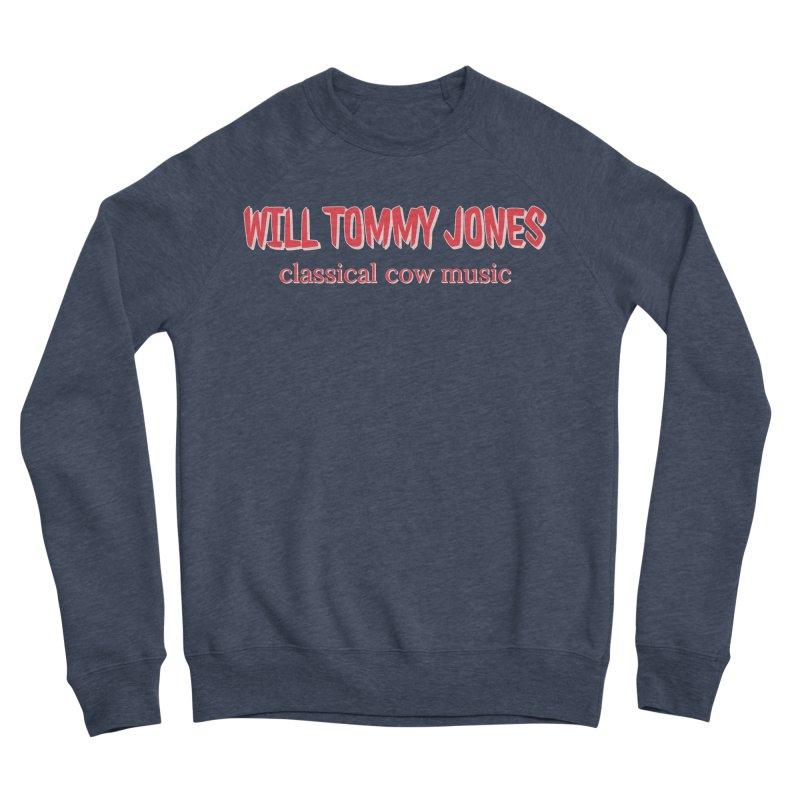 classical cow Men's Sponge Fleece Sweatshirt by Will's Buckin' Stuff