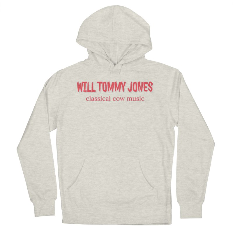 classical cow Men's French Terry Pullover Hoody by Will's Buckin' Stuff