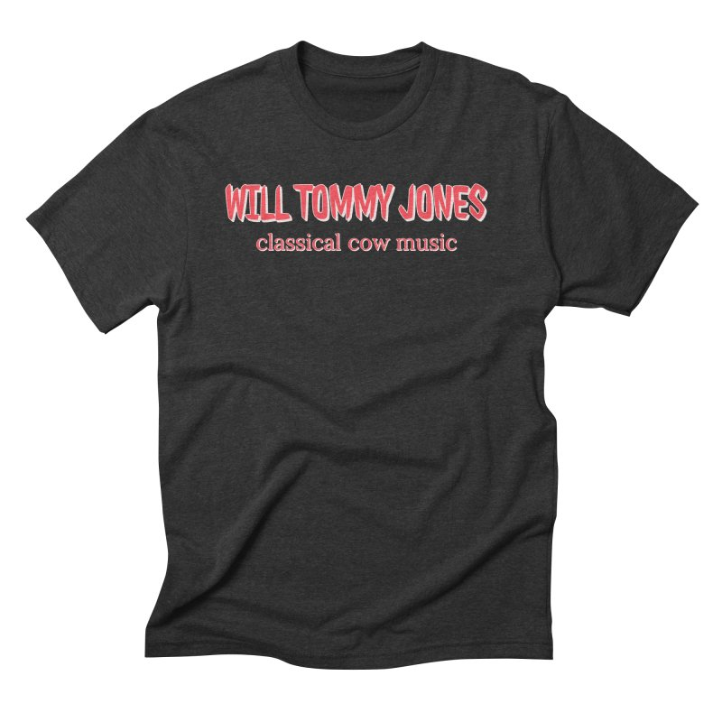 classical cow Men's Triblend T-Shirt by Will's Buckin' Stuff