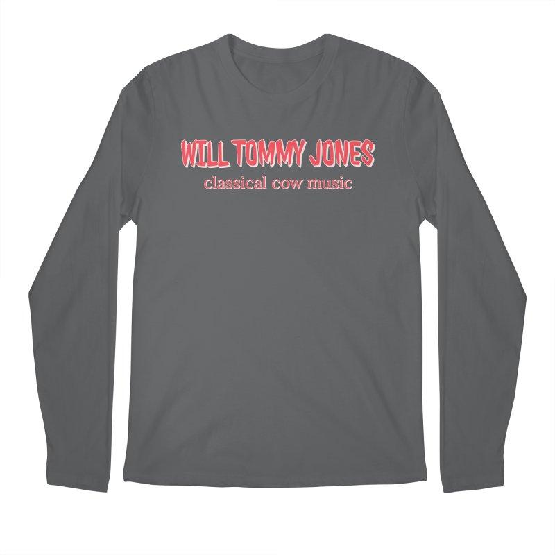classical cow Men's Regular Longsleeve T-Shirt by Will's Buckin' Stuff