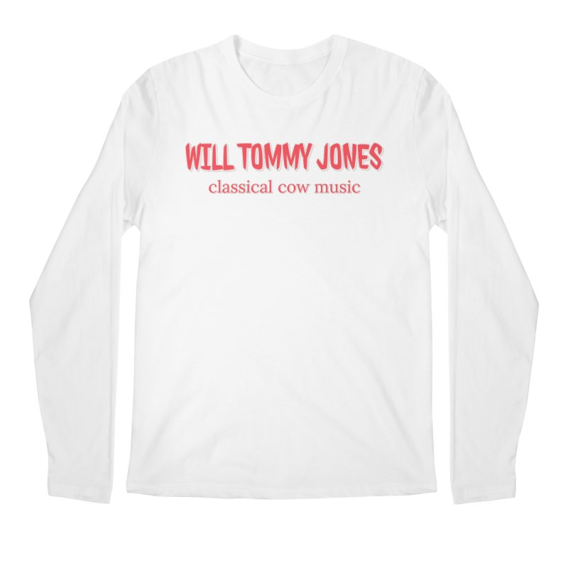 classical cow Men's Longsleeve T-Shirt by Will's Buckin' Stuff