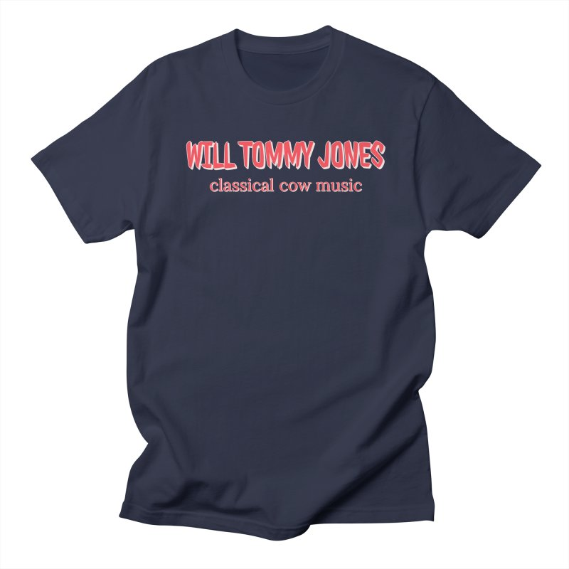 classical cow Men's T-Shirt by Will's Buckin' Stuff