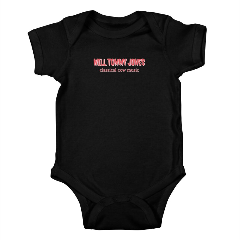 classical cow Kids Baby Bodysuit by Will's Buckin' Stuff