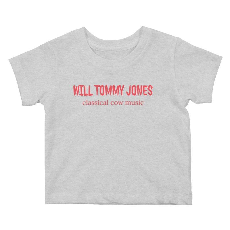 classical cow Kids Baby T-Shirt by Will's Buckin' Stuff