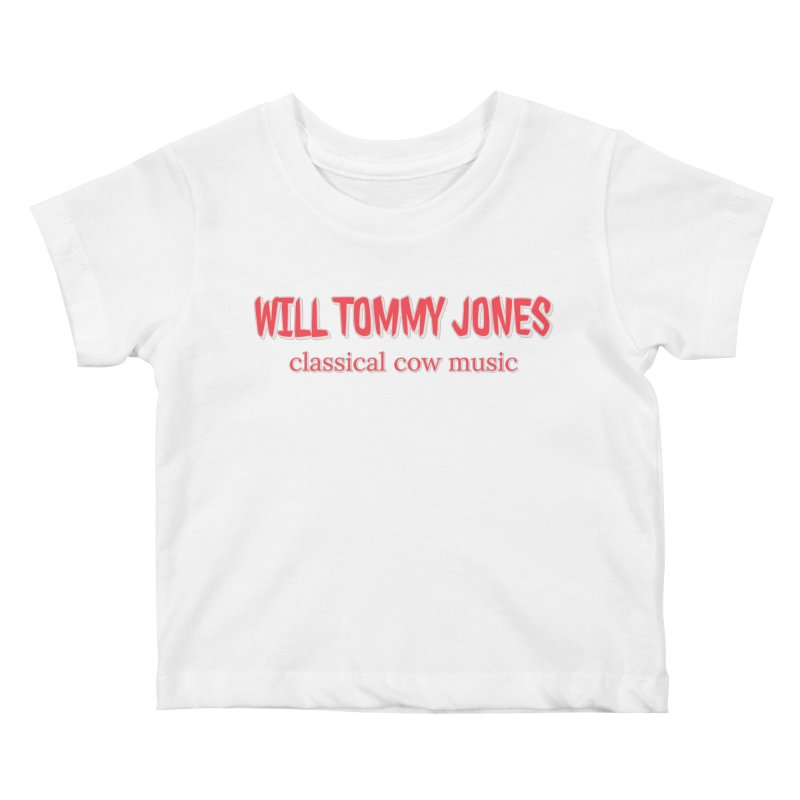 classical cow Kids Baby T-Shirt by Will's Buckin' Stuff