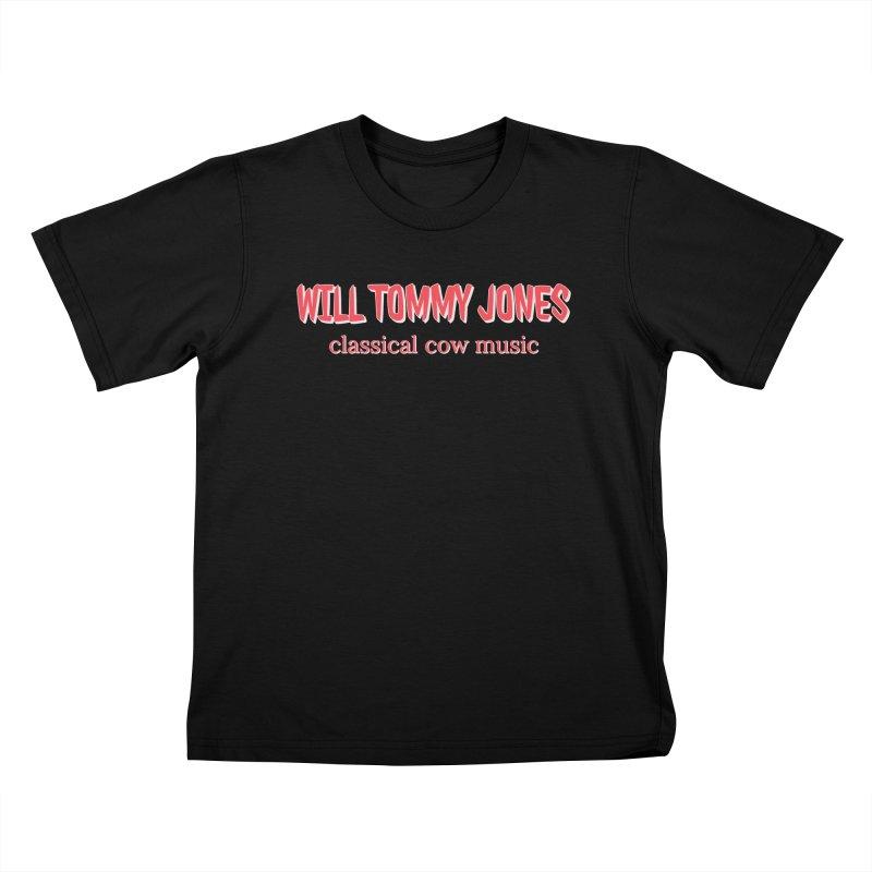 classical cow Kids T-Shirt by Will's Buckin' Stuff
