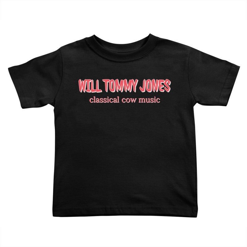 classical cow Kids Toddler T-Shirt by Will's Buckin' Stuff