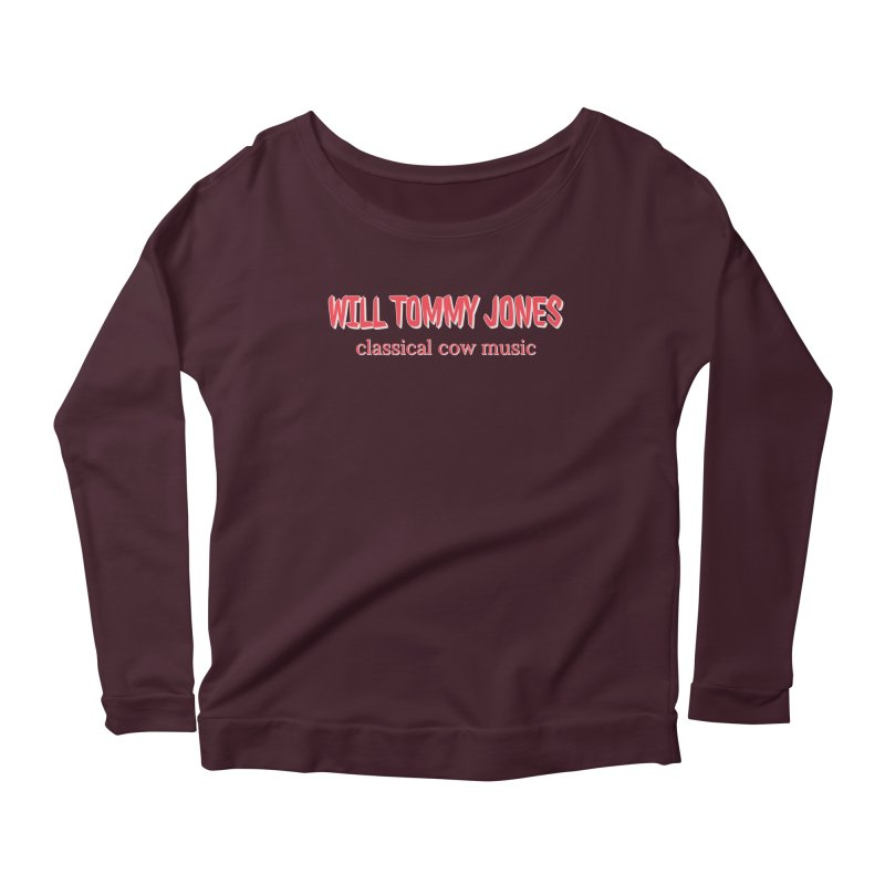 classical cow Women's Longsleeve T-Shirt by Will's Buckin' Stuff
