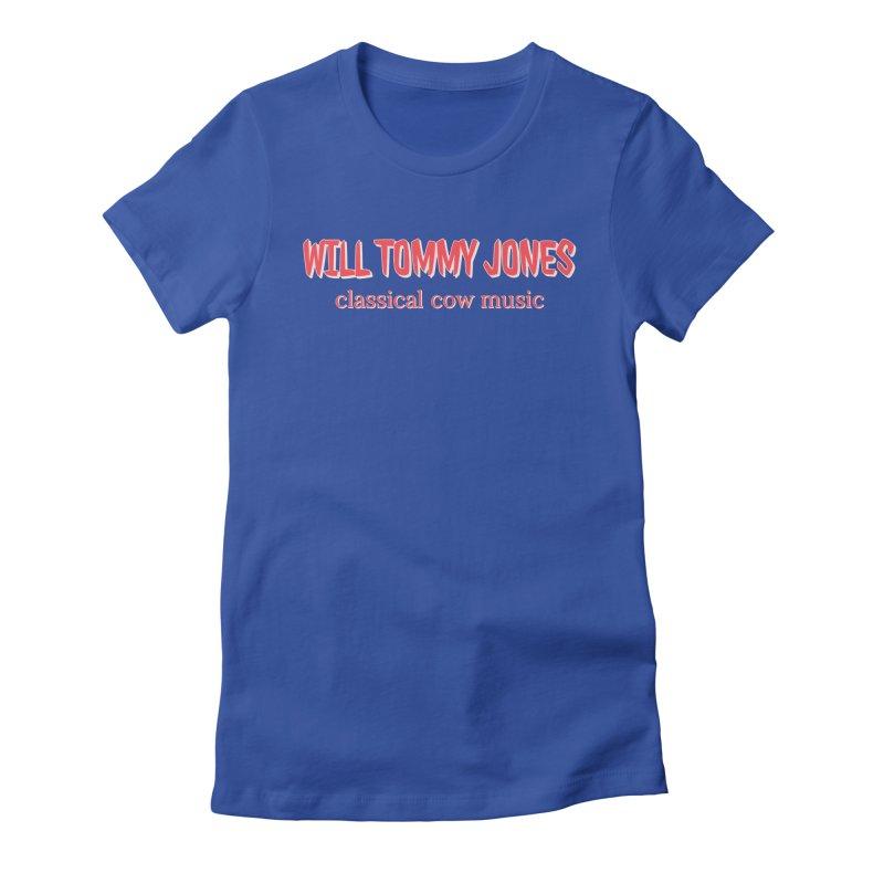 classical cow Women's T-Shirt by Will's Buckin' Stuff
