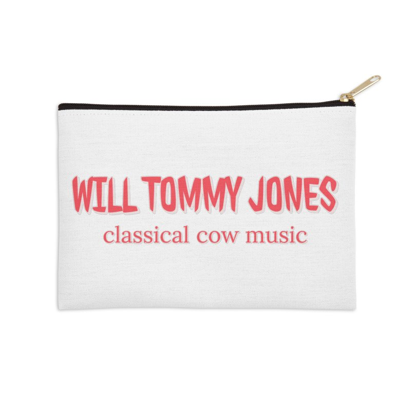 classical cow Accessories Zip Pouch by Will's Buckin' Stuff