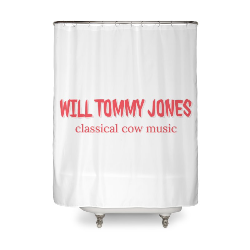 classical cow Home Shower Curtain by Will's Buckin' Stuff