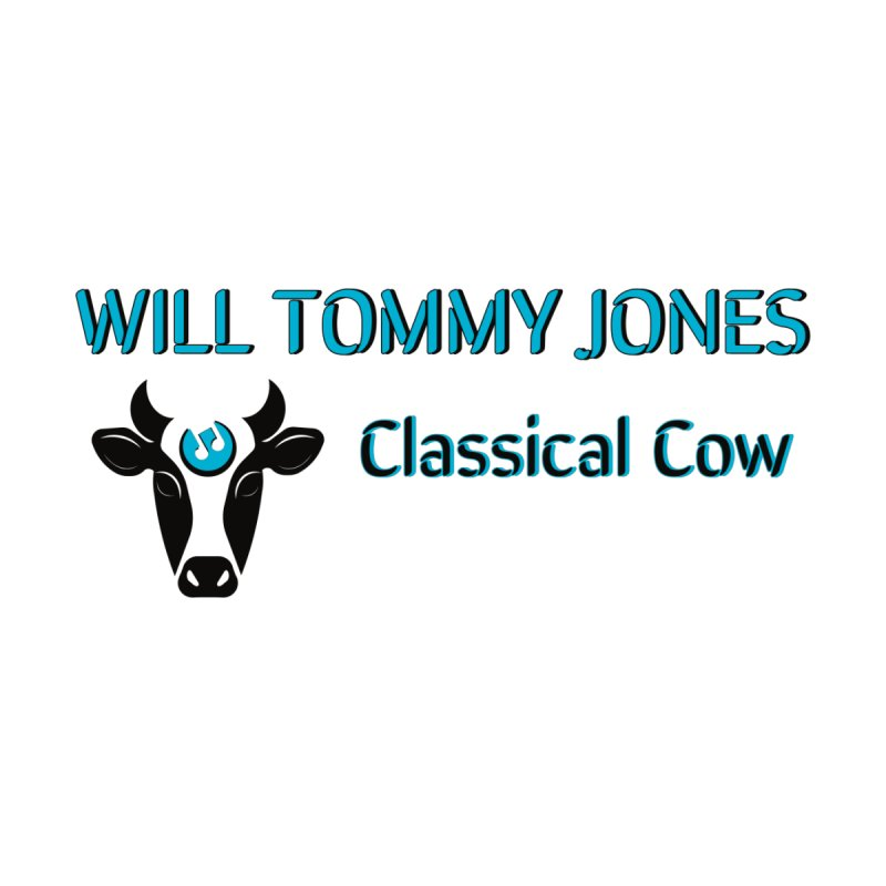 Classical Cow Tee Accessories Water Bottle by Will's Buckin' Stuff