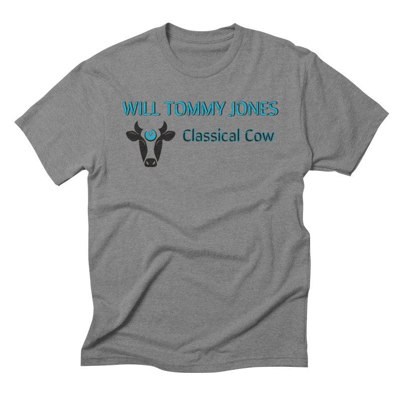 Classical Cow Tee Men's T-Shirt by Will's Buckin' Stuff