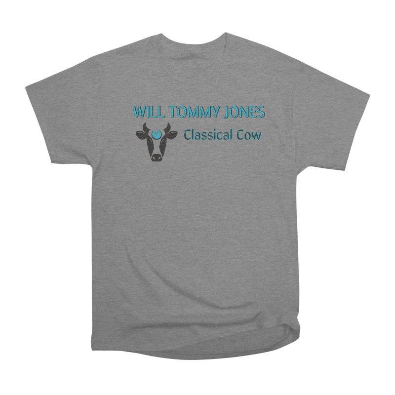 Classical Cow Tee Men's Heavyweight T-Shirt by Will's Buckin' Stuff