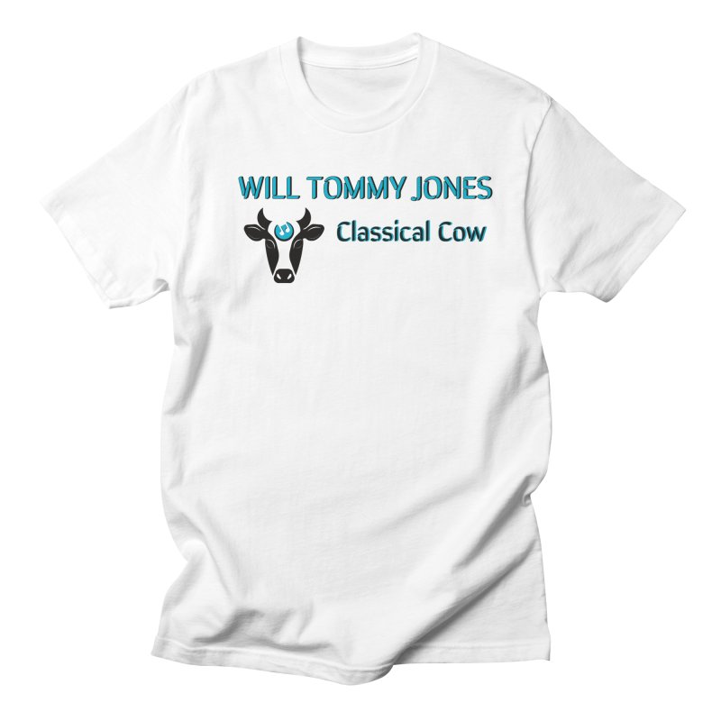Classical Cow Tee Men's Regular T-Shirt by Will's Buckin' Stuff