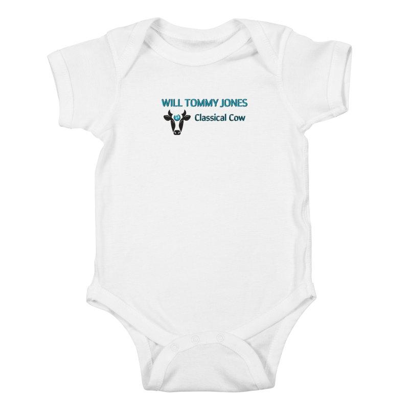 Classical Cow Tee Kids Baby Bodysuit by Will's Buckin' Stuff