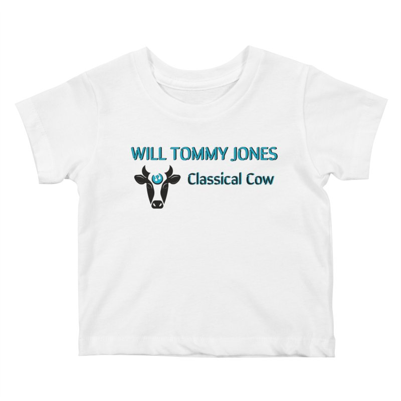 Classical Cow Tee Kids Baby T-Shirt by Will's Buckin' Stuff